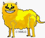 Cheshire Cat Sheep
